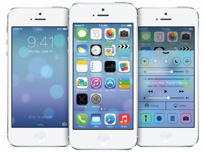 iOS 7界面